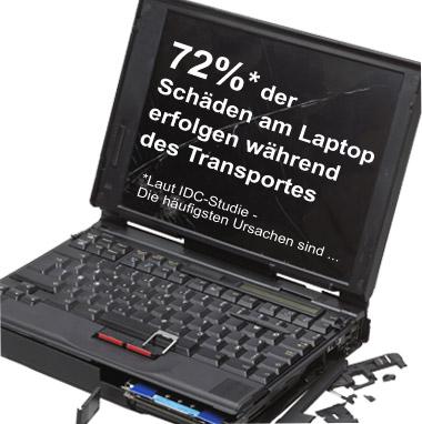 Lesen Sie hier die häufigsten Gründe für Laptop-Schäden